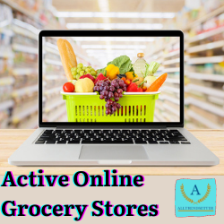 Active Online Grocery Stores – That Makes Your Life Easy