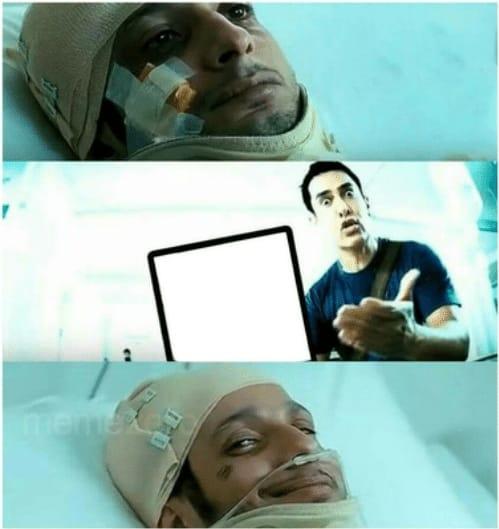 hospital raju meme