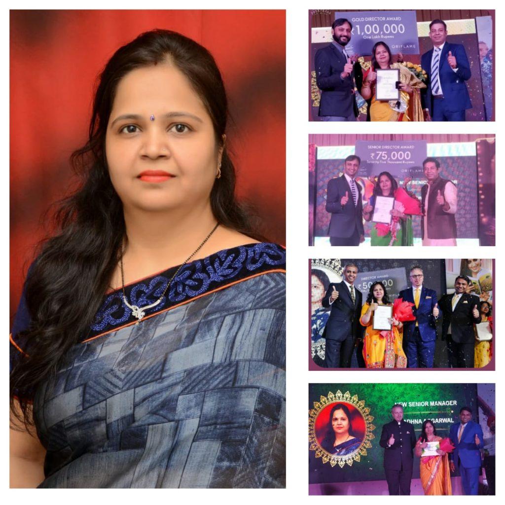 Sadhna aggarwal- a digital mompreneur with her cash awards
