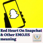 Red Heart On Snapchat
